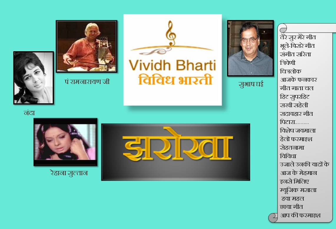 Jharokha -Today's (Tuesday-7th March) Details Of The Main Programs